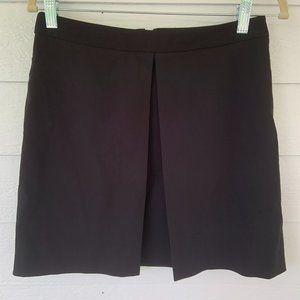 Sanctuary Black A-Line Skirt Front Pleat S Lined
